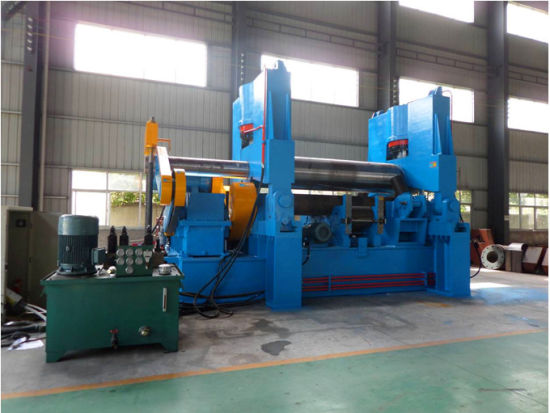 Steel Plate Roll Bending Machine with Pinch (W11S-50X3000)