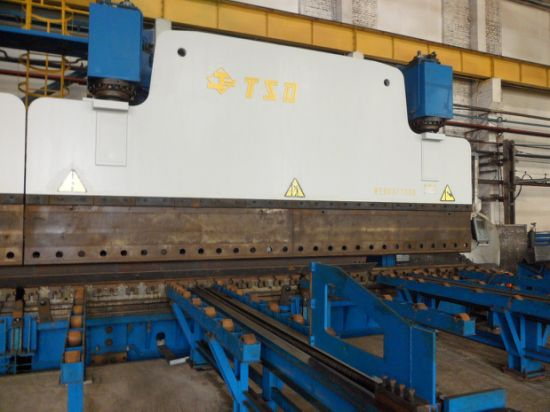 2×650t Tandem Press Brake for Street Pole Manufacture (2-WE67K-650/6000)