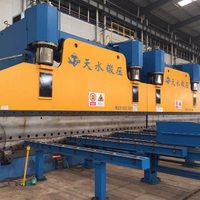 CNC Tandem Press Brake for Light Pole (2-WE67K-1200/7000)