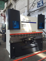 Small CNC Hydraulic Press Brake with Delem (WE67K-100/2500)