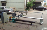 CNC Light Pole Door Cutting Machine