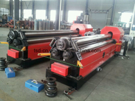 Three Roll Plate Bending and Rolling with Profile Bending (W11-6X3200)